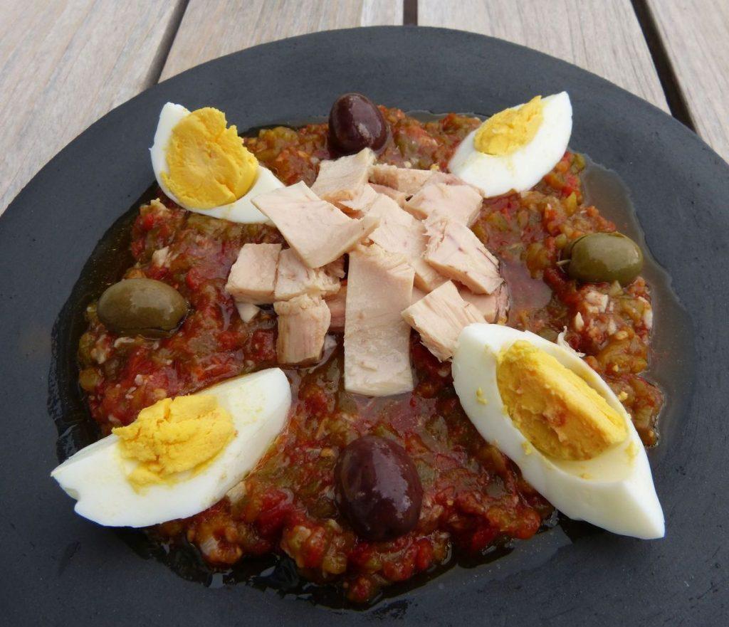 Tunisian Salada - Slata mechouia