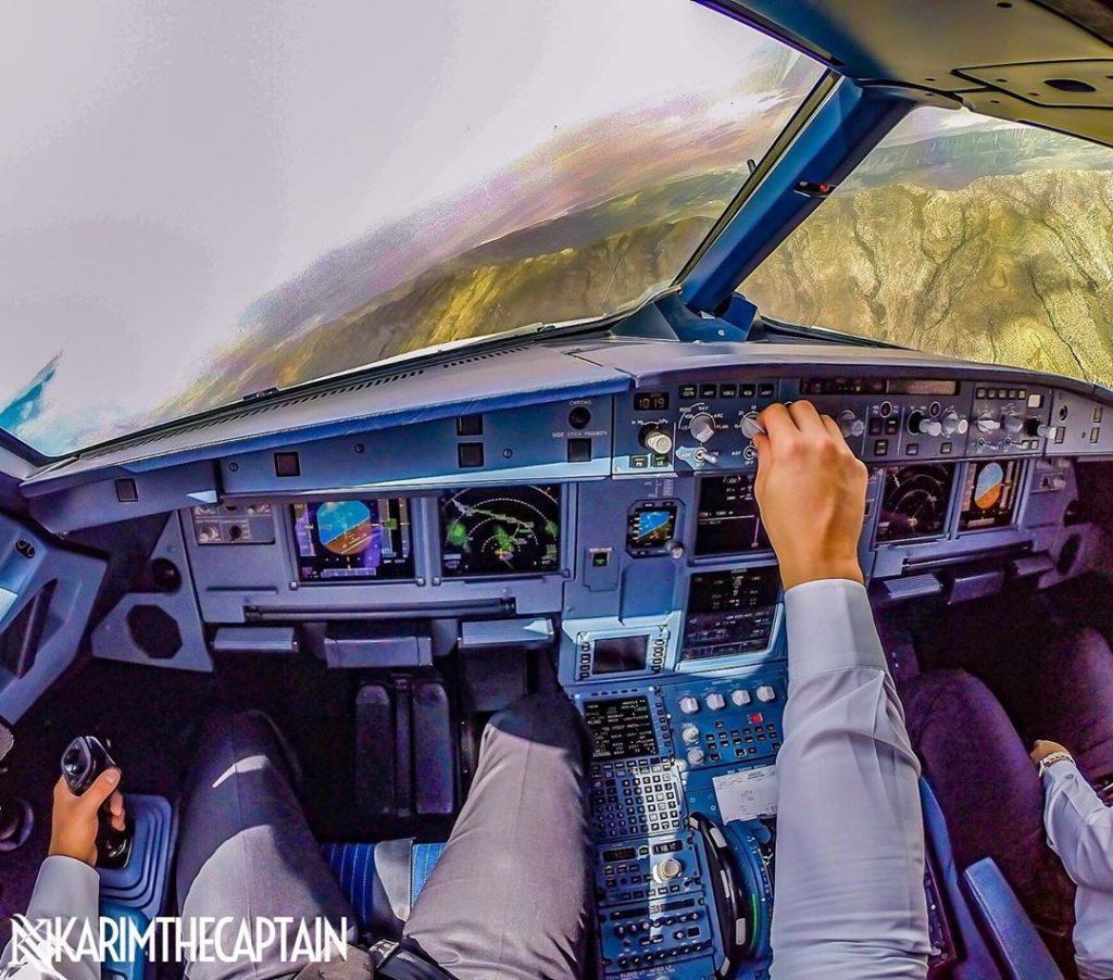 Tunisian Pilot's Spectacular In-Flight Photos Taken from Cockpit