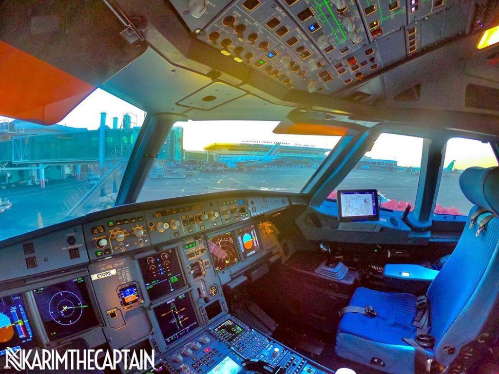 Tunisian Pilot In-Flight Photos