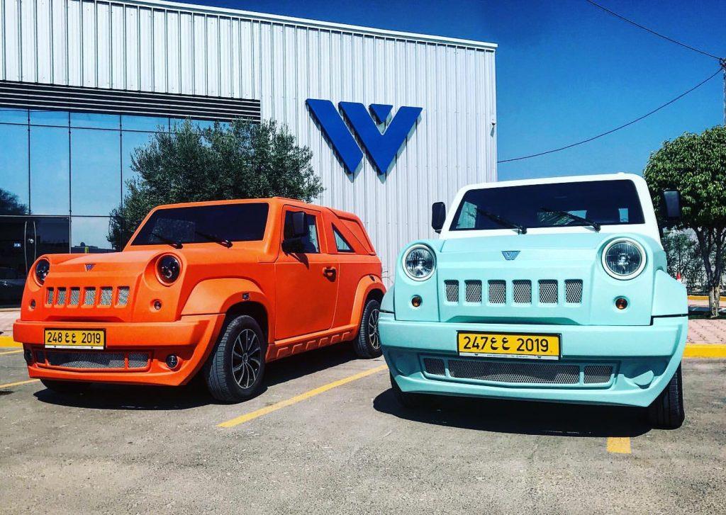 Wallyscar made in Tunisia car