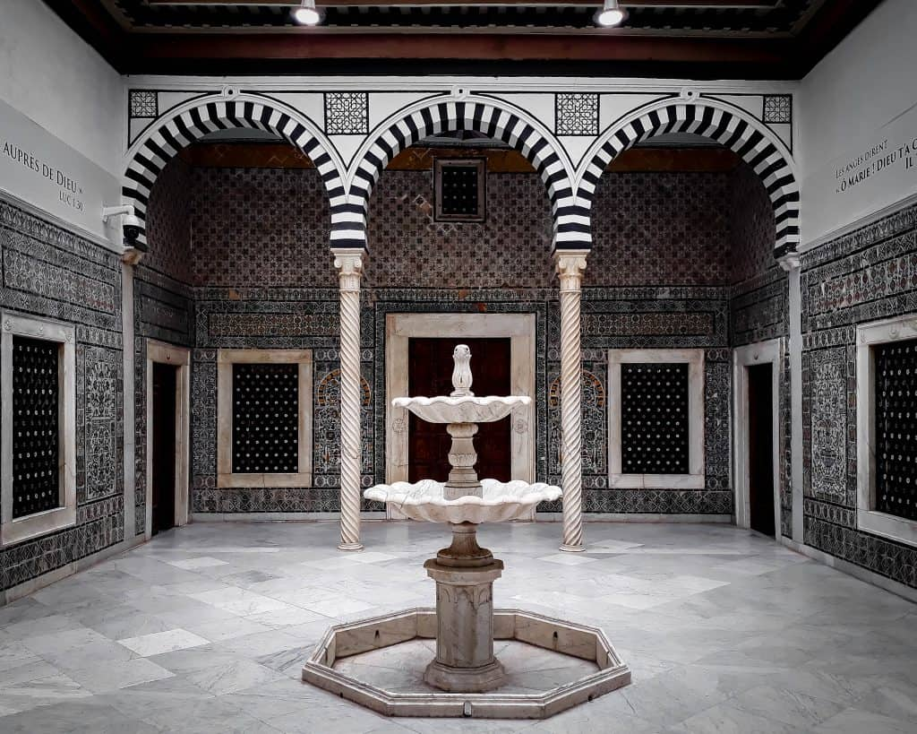 The Harem in the Bardo Museum