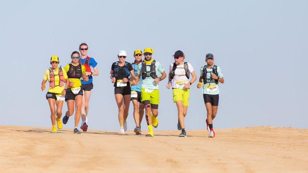 A marathon in the South of Tunisia.