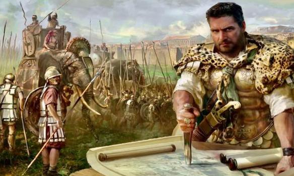 A striking portrayal of Hannibal and his army, by Mariusz Kozik