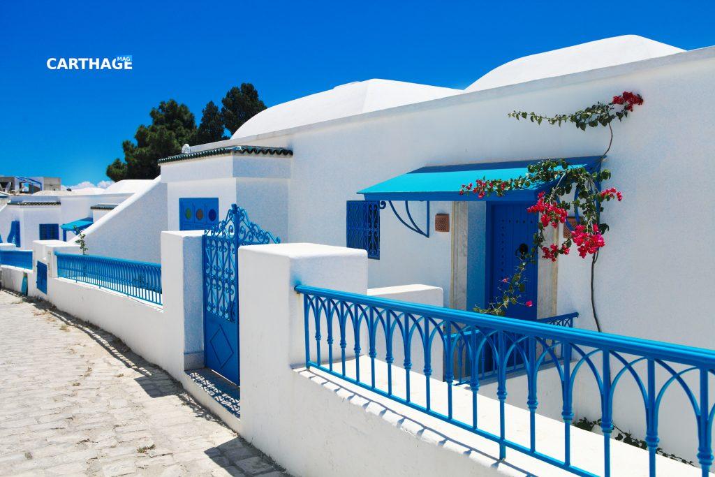 Sidi Bou Said, Tunisia. The White and blue town