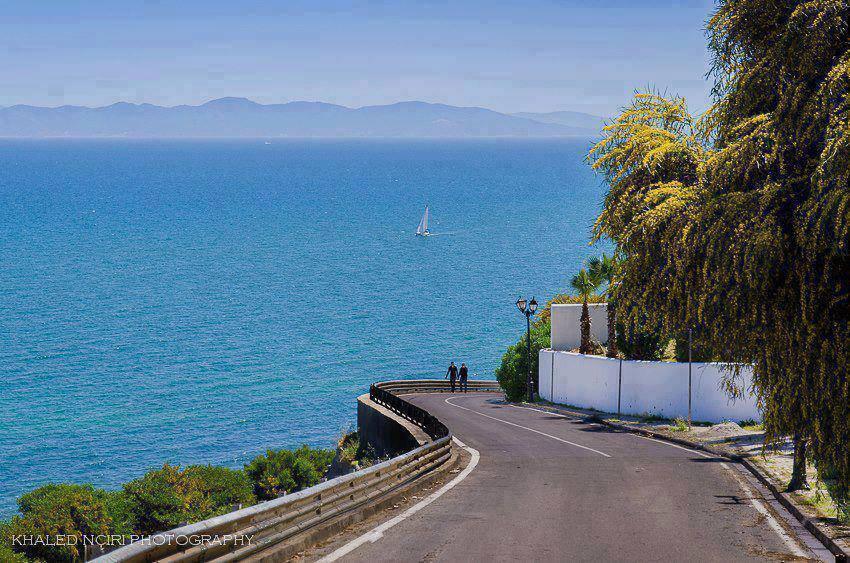 A view from Sidi Bou Said, Tunisia