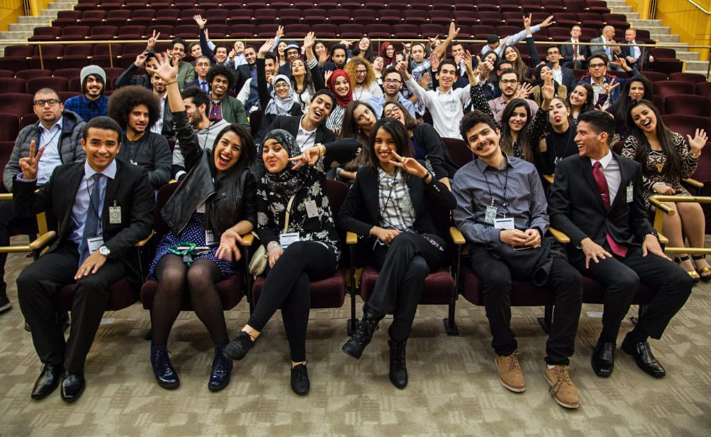 The 2016–2017 Thomas Jefferson Community College Program scholars from Tunisia (State Dept.)
