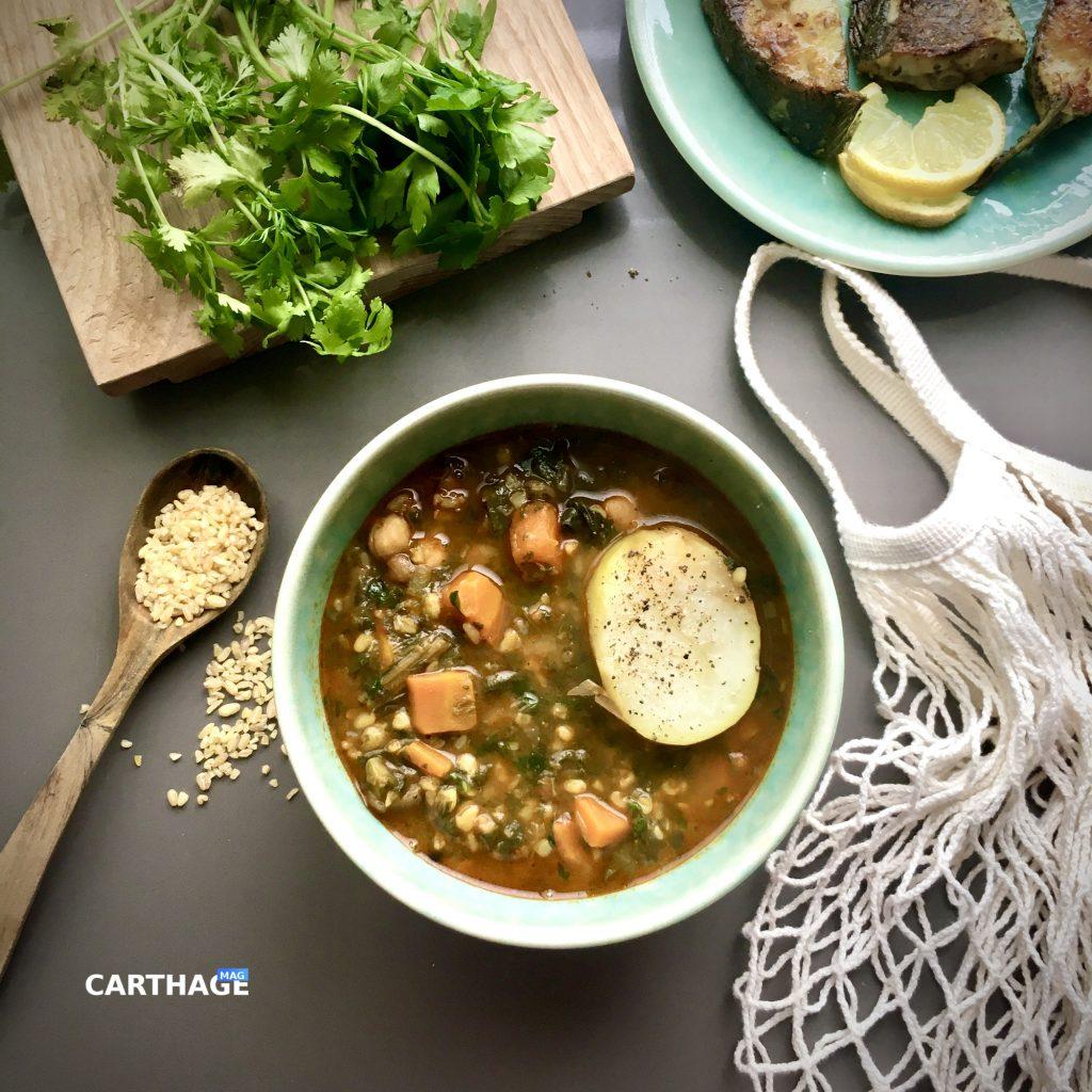 Tunisian Vegetable Stew recipe