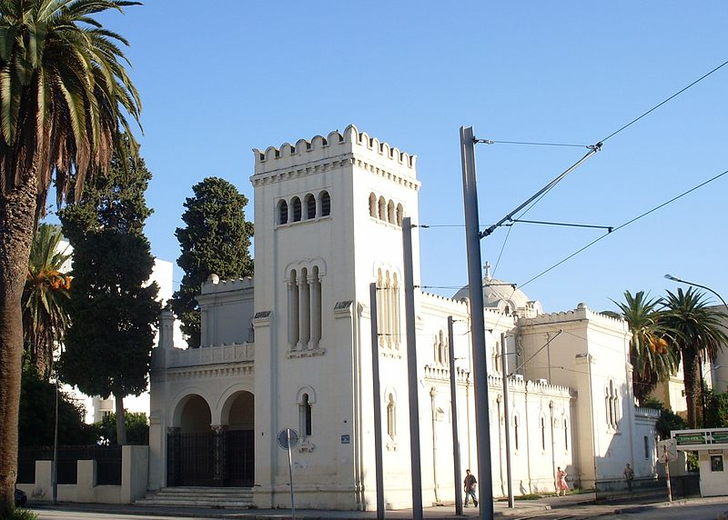 Catholic Church of St. Joan of Arc in Tunis