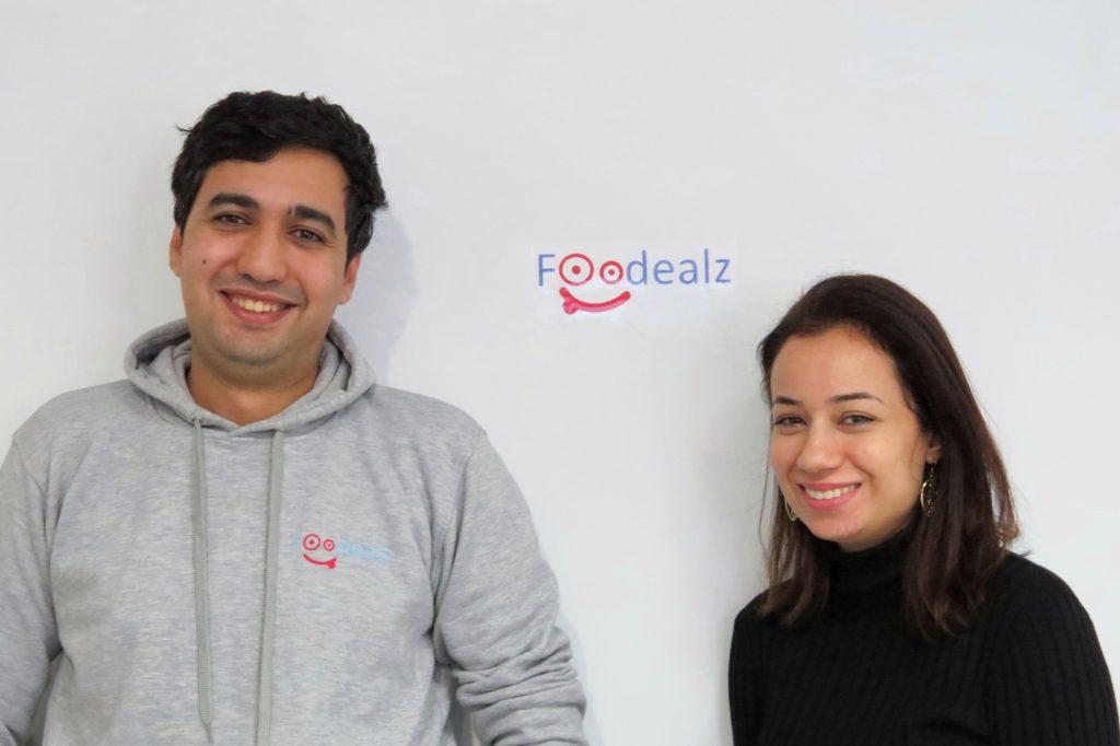 Foodealz Cofounders. Rim Elfahem and Iskander El Amri. Photo provided by Rim Elfahem.