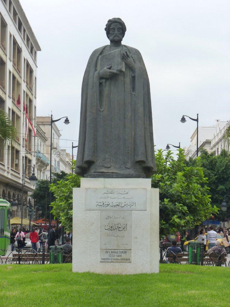 Monument to Ibn Khaldoun (Tunis)