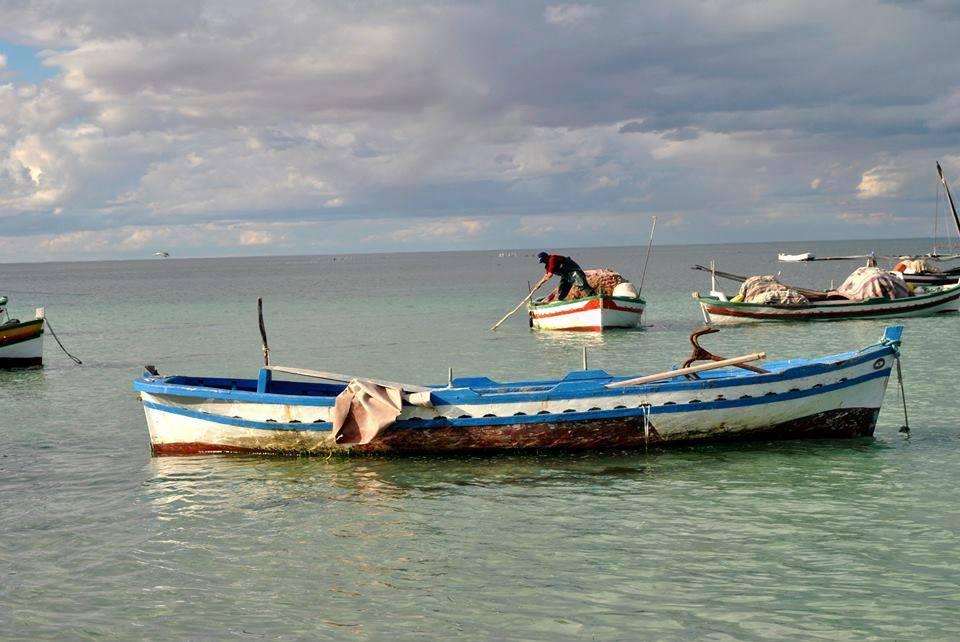 Kerkennah island, Tunisia.