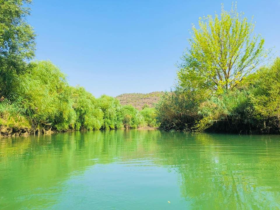 Mejerda River, Testour, Tunisia.