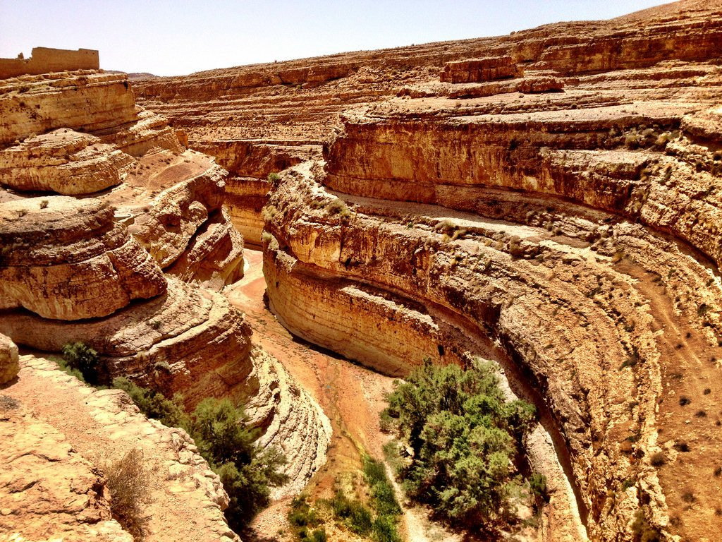 Mides Canyons in Tozeur