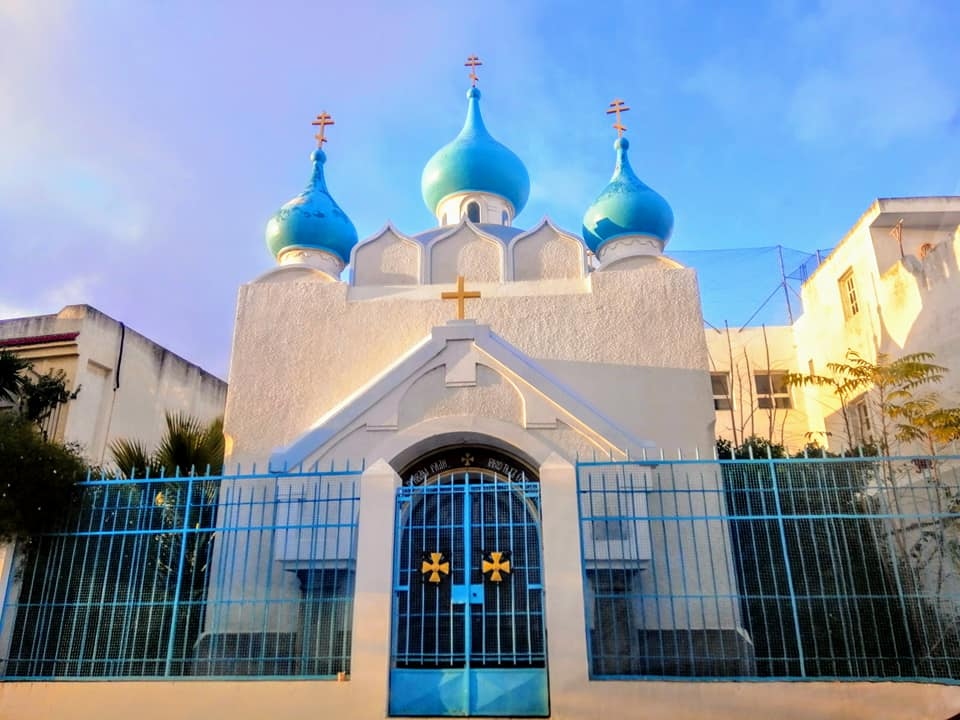 Russian Ultra-Orthodox Church of Bizerte.