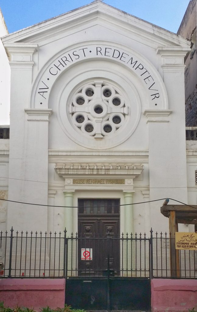 The Reformed Church of Tunis.