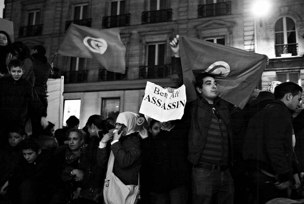 Anniversary of the Tunisian Revolution. Photo credit: Jean-Baptiste Meriem