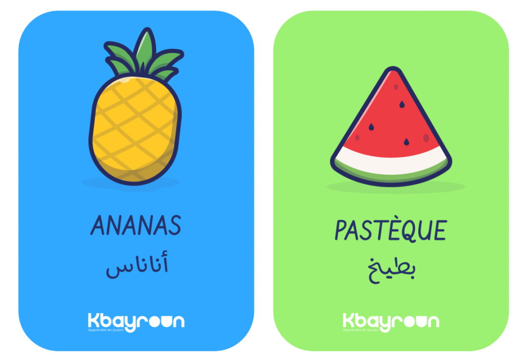 Prototype of products to be offered by Kbayroun.