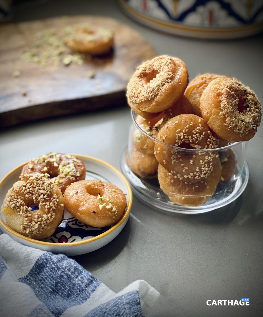 Tunisian Doughnuts Yoyo