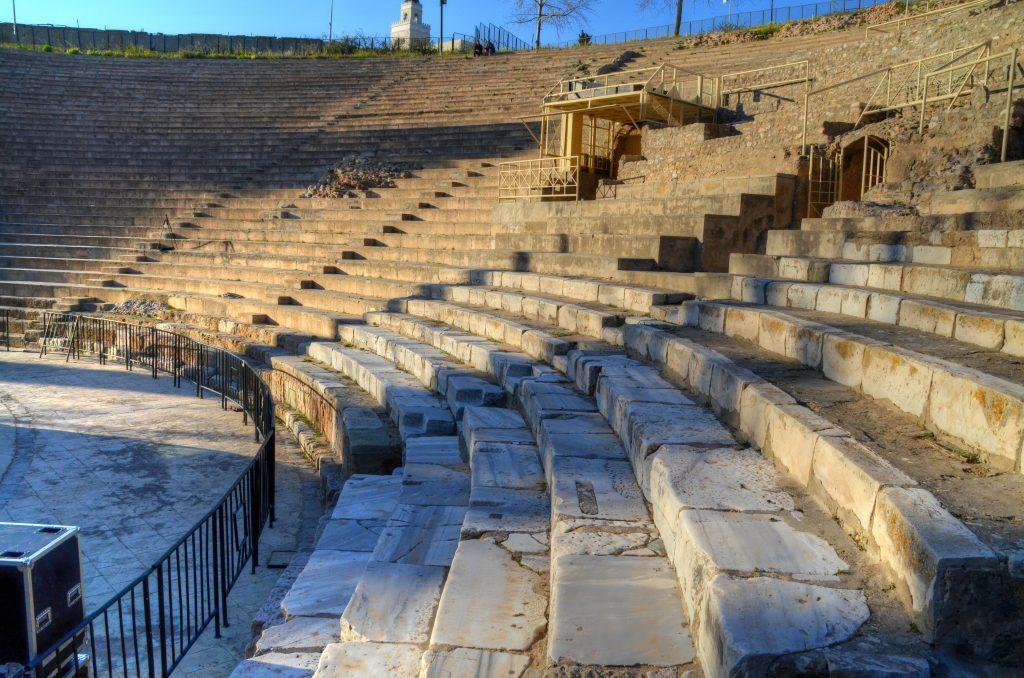 The Carthage Amphitheatre, the main venue of the International Festival of Carthage