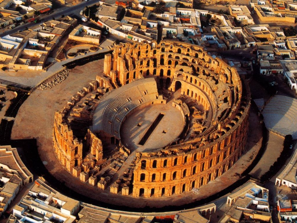 The El Jem Amphitheatre