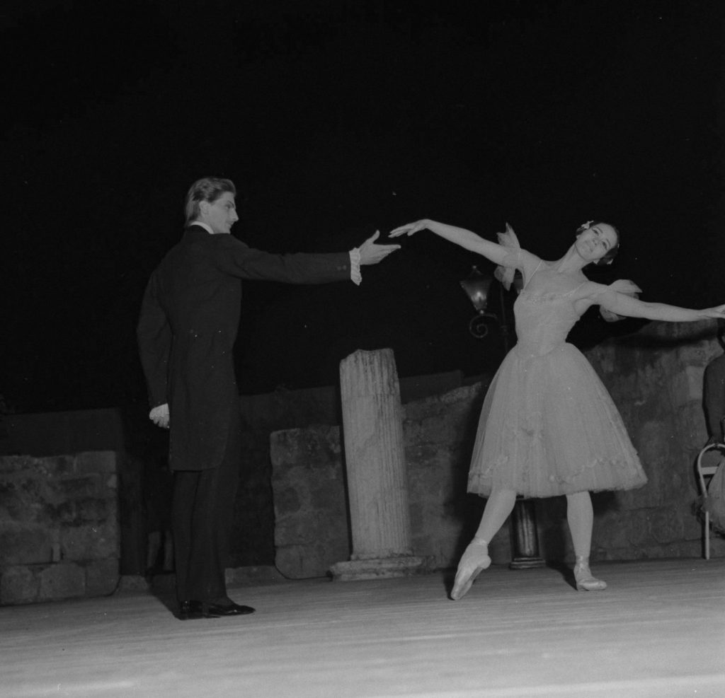 Russian ballet performing at the International Festival of Carthage
