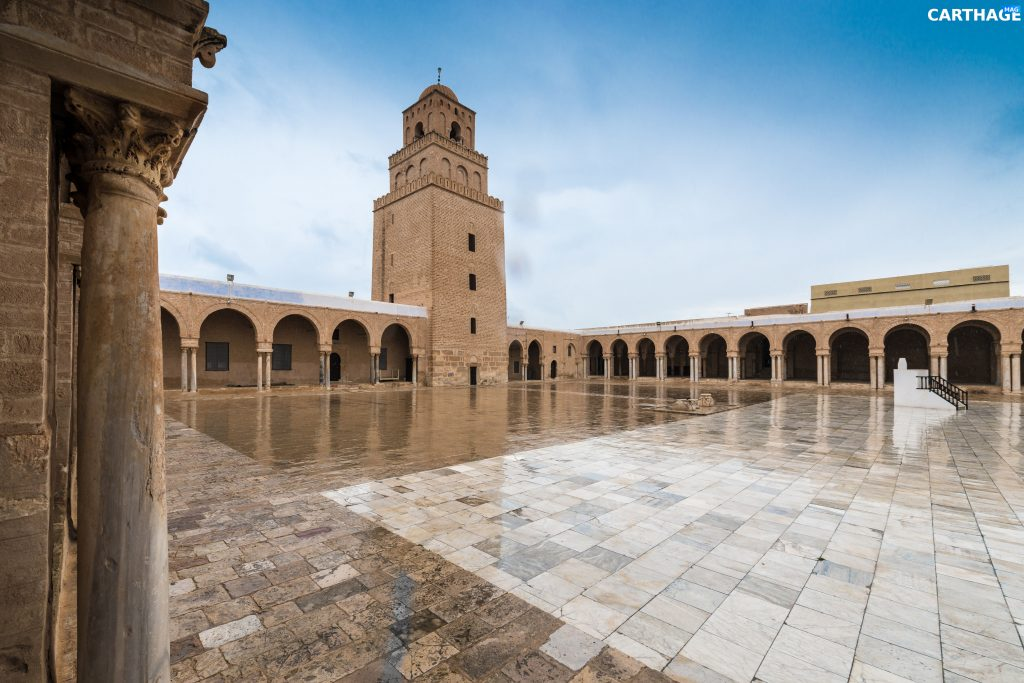 The Great Mosque, also known as the Mosque of Uqba