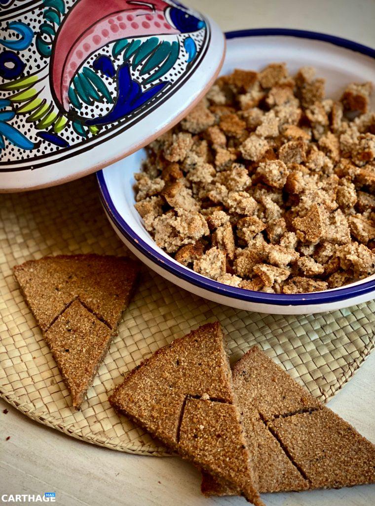 Tunisian Barley Bread
