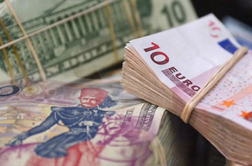 Tunisian Dinar and Euros.