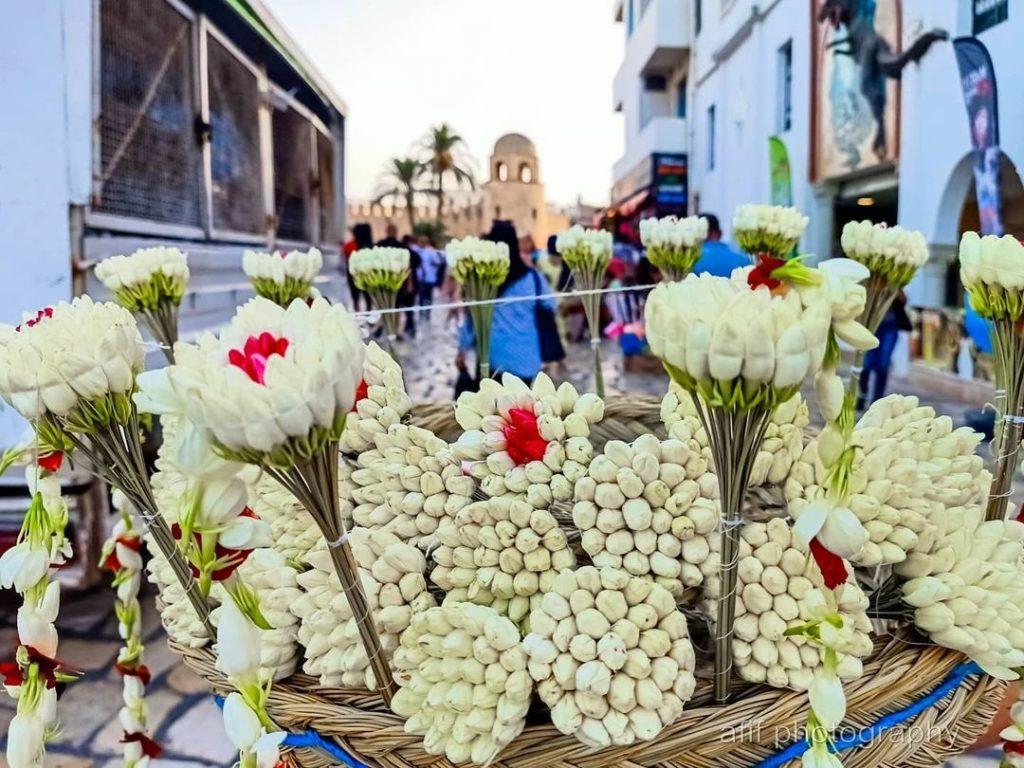 Mashmoum in Sidi Bou Said, Tunisia.