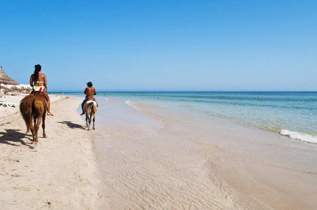 A beach in the East coast of Djerba.