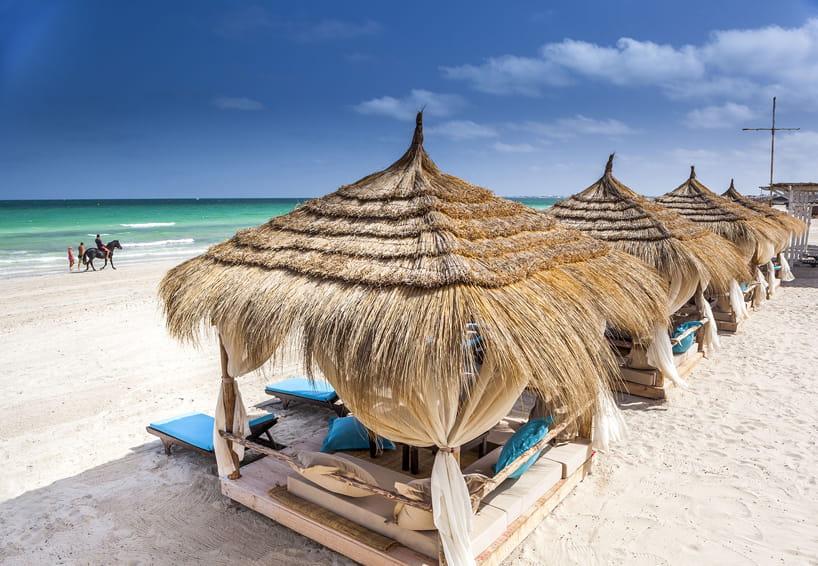 Djerba beach.