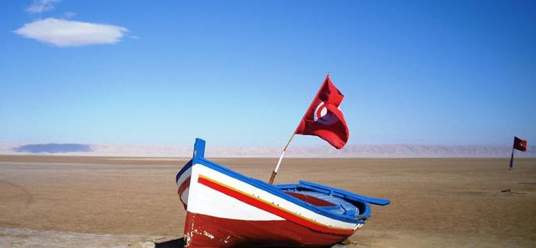 Chott El Jerid, Tunisia.
