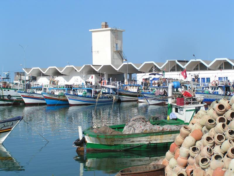 A general view of the port in the coastal town of Zarzis. (Tunisian Tourism Ministry)