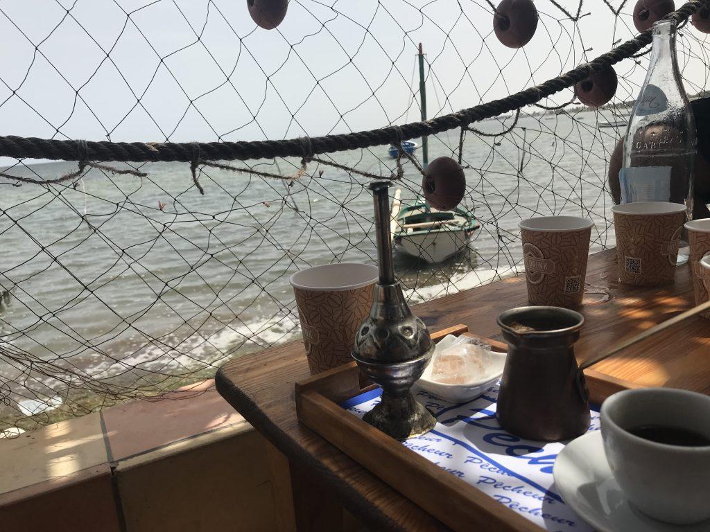 Café le Pecheur in Houmt Souk, Djerba.