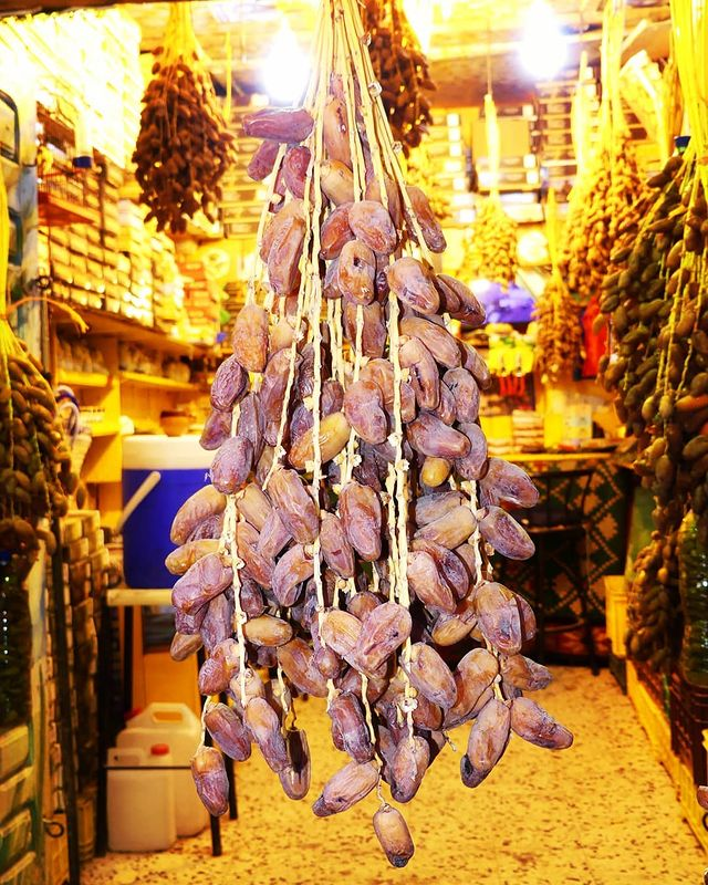 Tunisian dates - Deglet Nour of Tunisia.